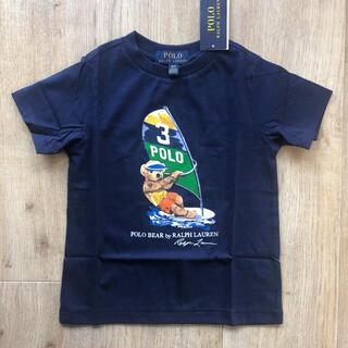 Ralph Lauren - ラルフローレン キッズ 最新作 ポロベア  サーフィン 110 半袖 Tシャツ