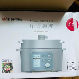 アイリスオーヤマ - 【新品未使用】電気圧力鍋 アイリスオーヤマ 4l KPC-MA4-B 新品未使用