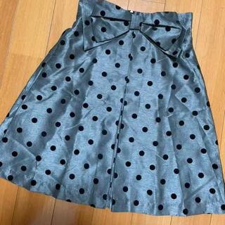 ドーリーガールバイアナスイ(DOLLY GIRL BY ANNA SUI)のドーリーガールバイアナスイ ドット柄スカート(ひざ丈スカート)