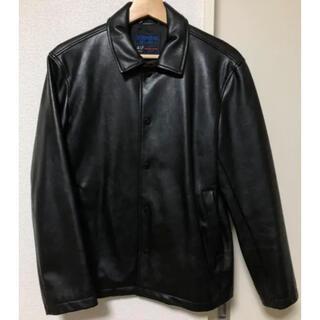 エディフィス(EDIFICE)の【EDIFICE】レザーシャツジャケット(レザージャケット)