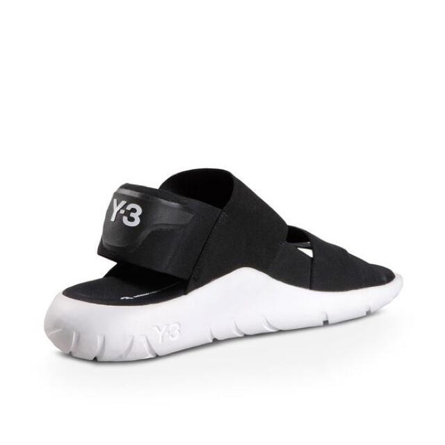 Y-3(ワイスリー)のY-3 QASA SANDAL BLACK 27.5cm メンズの靴/シューズ(サンダル)の商品写真