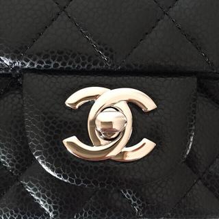CHANEL - 【追加写真】極美品 シャネル ミニマトラッセ キャビアスキン ショルダーバッグ