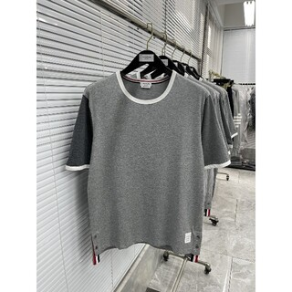 THOM BROWNE - 21ss THOM BROWNE  スリーグレー半そでtee