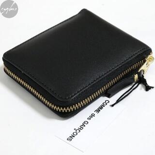 COMME des GARCONS - コムデギャルソン ウォレット SA7100 レザー ウォレット 黒 新品 財布