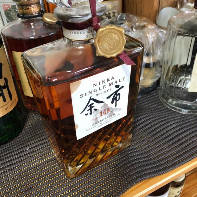 余市10年 700ml 食品/飲料/酒の酒(ウイスキー)の商品写真