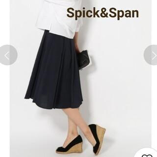 スピックアンドスパン(Spick and Span)のスピック&スパン ランダムヘムギャザースカート S(ひざ丈スカート)