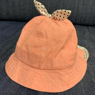 Branshes - branshes ベビー 帽子 ハット 日除けゴム付き 46cm