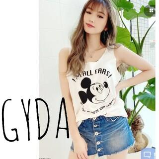 GYDA - GYDA ミッキー タンクトップ ホワイト