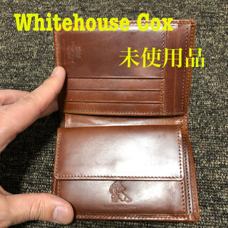 WHITEHOUSE COX - 未使用)ホワイトハウスコックス 財布 Made in England