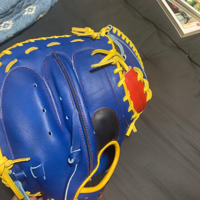 SSK(エスエスケイ)の硬式オーダーミット スポーツ/アウトドアの野球(グローブ)の商品写真