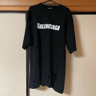 バレンシアガ(Balenciaga)のらーくま様 専用 BALENCIAGA CAPS DESTROYED Tシャツ(Tシャツ/カットソー(半袖/袖なし))