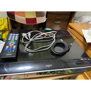 SHARP - SHARP Blu-Rayディスクレコーダー AQUOS ブラック