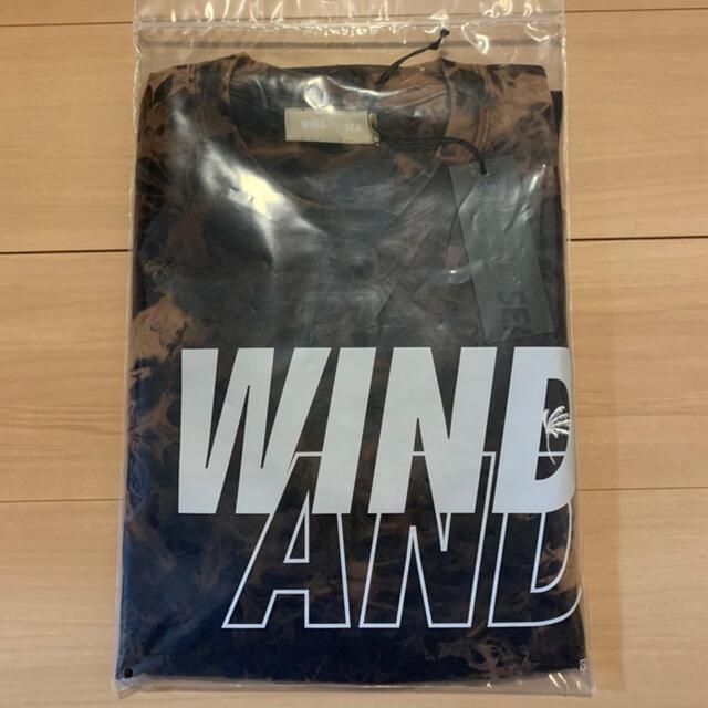 SEA(シー)のウィンダンシー S_E_A (BLEACHED) L/S T-SHIRT メンズのトップス(Tシャツ/カットソー(七分/長袖))の商品写真