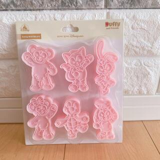 ダッフィー - 香港ディズニー ダッフィーフレンズクッキー型(オルメル入り)