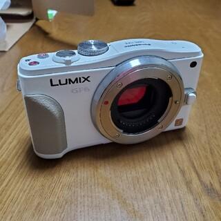 Panasonic - Panasonic LUMIX DMC-GF6W デジタル一眼レフカメラ