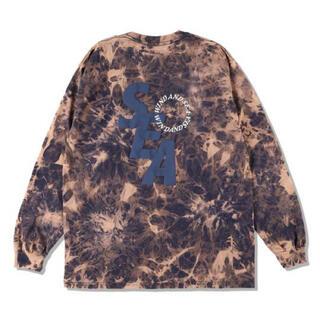 シー(SEA)のウィンダンシー S_E_A (BLEACHED) L/S T-SHIRT(Tシャツ/カットソー(七分/長袖))