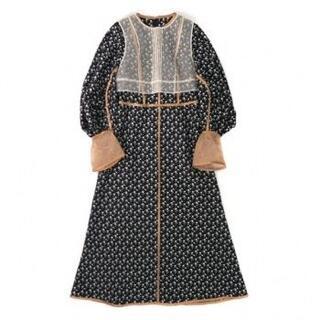 mame - mame 20ss シルクオーガンジーベスト ドレス