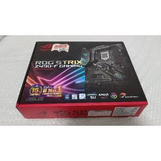 エイスース(ASUS)の美品 ASUS ROG STRIX Z490-F GAMING 最新BIOS更新(PCパーツ)