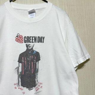 シュプリーム(Supreme)の90's GREEN DAY グリーンデイ Tシャツ バンドT(Tシャツ/カットソー(半袖/袖なし))