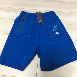 adidas - 【新品】adidas アディダス ハーフパンツ 130 ブルー