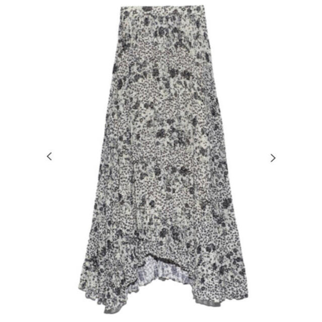 FRAY I.D(フレイアイディー)のCELFORD セルフォード ランダムフラワープリントスカート レディースのスカート(ロングスカート)の商品写真