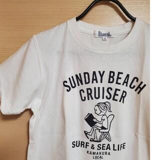 オールオーディナリーズ(ALL ORDINARIES)のALL ORDINARIES * 白Tシャツ * Sサイズ(Tシャツ(半袖/袖なし))