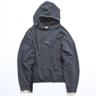 SUNSEA - stein OVERSIZED REBUILD SWEAT HOOD