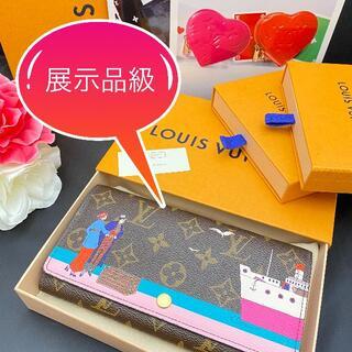 LOUIS VUITTON - 展示品級♡正規品 ポルトフォイユ・サラ クルーズ ルイヴィトン 長財布