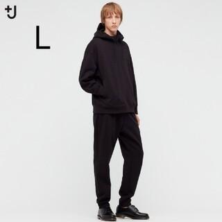 UNIQLO - UNIQLO+j ドライスウェットパンツカラー ブラック