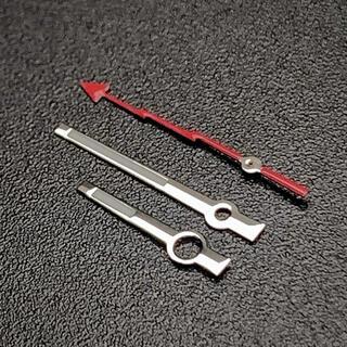 セイコー(SEIKO)のセイコー SEIKO 針 セット 社外 カスタム レッド 赤 MOD ミルガウス(腕時計(アナログ))