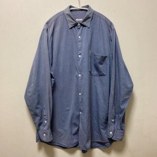 COMOLI - comoli コモリシャツ ブルー サイズ3
