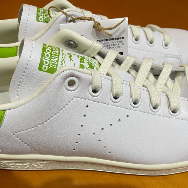 adidas(アディダス)の新品★アディダススタンスミス プライムグリーン カーミット メンズの靴/シューズ(スニーカー)の商品写真