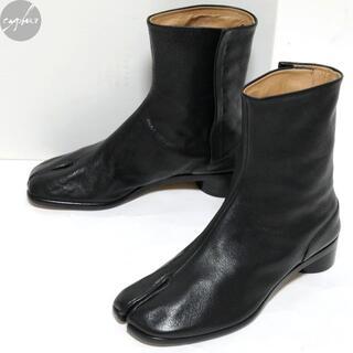 Maison Martin Margiela - 20SS メゾンマルジェラ レザー 足袋 ブーツ 黒39 24~25cm新品タビ