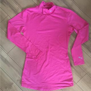 プーマ(PUMA)のプーマ アンダーウェア ピンク Sサイズ(Tシャツ(長袖/七分))