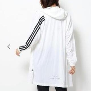 adidas - アディダス M ロング ガウン パーカー レディース 新品 ♡ キッズ ジュニア