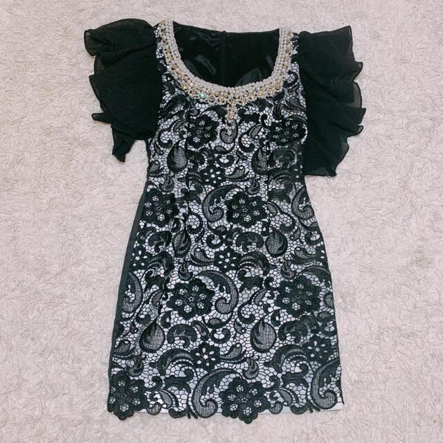 JEWELS(ジュエルズ)のキャバドレス ナイトドレス ドレス ミニドレス ミニワンピ ワンピ レディースのフォーマル/ドレス(ナイトドレス)の商品写真