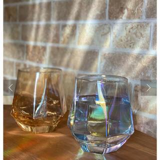 スリーコインズ(3COINS)のスリーコインズ 六角形 オーロラグラス (グラス/カップ)