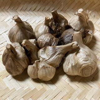 熟成黒にんにく 青森県産ニンニク 福地ホワイト6片 1か月分以上!!(野菜)