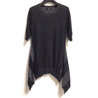 ヨウジヤマモト(Yohji Yamamoto)の【新品】Y's■ワイズ ヨウジヤマモト ニット カットソー セーター 半袖(ニット/セーター)