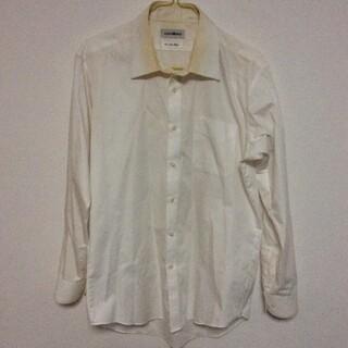 アオキ(AOKI)のYシャツ メンズ Lサイズ 黄ばみ 汗染み(シャツ)