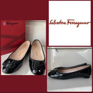 Salvatore Ferragamo - フェラガモ🍓パテントパンプス