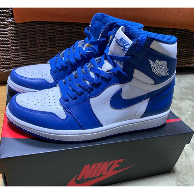 NIKE(ナイキ)のNIKE AIR JORDAN 1 STORM BLUE 27.5cm メンズの靴/シューズ(スニーカー)の商品写真