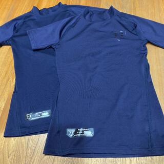 アンダーアーマー(UNDER ARMOUR)の《アンダーアーマー 》アンダーシャツ  ジュニア YLG 150 ネイビー(ウェア)