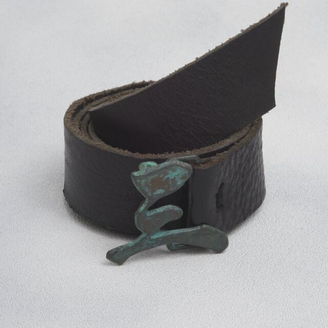 JOHN LAWRENCE SULLIVAN(ジョンローレンスサリバン)のKOZABURO 19SS ベルト&コンチョ メンズのファッション小物(ベルト)の商品写真