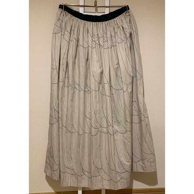 mina perhonen(ミナペルホネン)のミナペルホネン  タンバリン tambourine スカート レディースのスカート(ひざ丈スカート)の商品写真