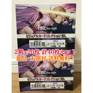 Fate stay night [Heaven's Feel] カード 2箱(キャラクターグッズ)