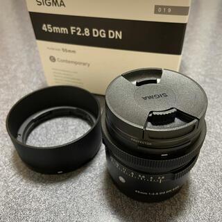 シグマ(SIGMA)のsigma 45mm f2.8 dg dn eマウント(レンズ(単焦点))