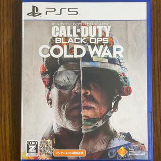 プレイステーション(PlayStation)のコール オブ デューティ ブラックオプス コールドウォー PS5(家庭用ゲームソフト)