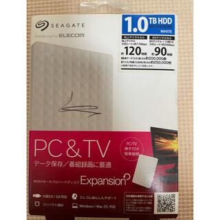 ELECOM - ポータブルハードディスク 新品