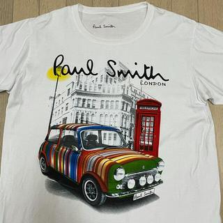 Paul Smith - ポールスミス マルチストライプ ミニクーパー メンズ Tシャツ ビッグロゴ